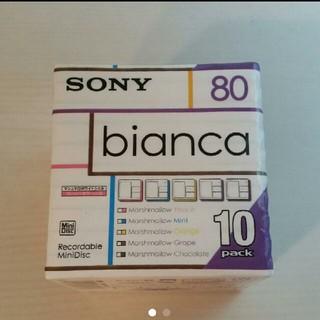 ソニー(SONY)の【新品・10pack】SONY MDディスク bianca(その他)