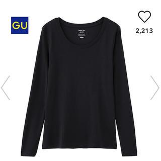 ジーユー(GU)のクルーネックT(長袖)(Tシャツ(長袖/七分))