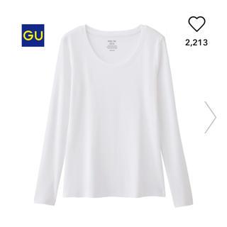 ジーユー(GU)のジーユー クルーネックT(長袖)(Tシャツ(長袖/七分))
