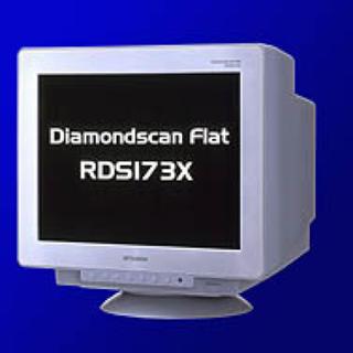 ミツビシ(三菱)の三菱 CRTモニター RDS173X(ディスプレイ)