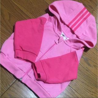 アディダス(adidas)のアディダス ベビートレーナー ピンク色(トレーナー)