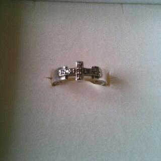アガット(agete)のアガット ブラックダイヤ シルバーリング(リング(指輪))