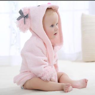 バスローブ ベビー 新生児 出産祝い(バスローブ)