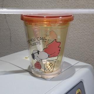 スヌーピー(SNOOPY)のスヌーピープラスチックコップ(グラス/カップ)