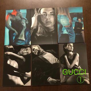 グッチ(Gucci)の非売品 GUCCI グッチ ポストカード 6枚セット①(ノベルティグッズ)