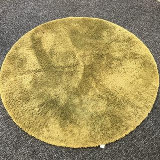 無印良品 芝生ラグ カーペット 丸形 円形