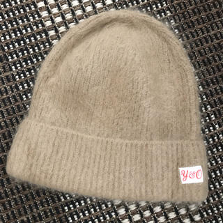 ロンハーマン(Ron Herman)の新品 young&olsen アンゴラ ニット帽 レディース (ニット帽/ビーニー)