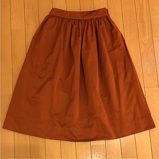 ザラ(ZARA)のZARA ミディアムスカート(ひざ丈スカート)