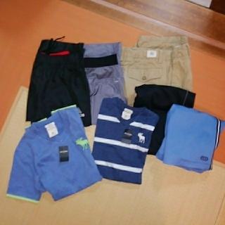 アディダス(adidas)の男児 夏衣類+水着セット 150-160(パンツ/スパッツ)