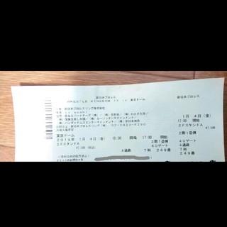 新日本プロレス 東京ドーム 2019/1/4  1枚(格闘技/プロレス)