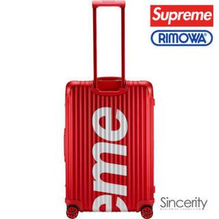 リモワ(RIMOWA)のSupreme RIMOWA Topas Multiwheel 45L新品未使用(トラベルバッグ/スーツケース)