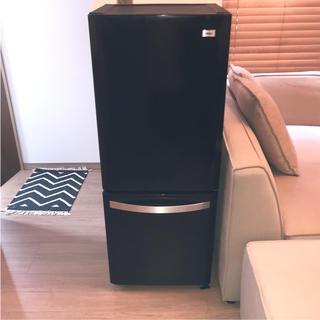 ハイアール(Haier)の【中古】 ハイアール 冷蔵庫 2ドア 2016年製 138L 黒(冷蔵庫)