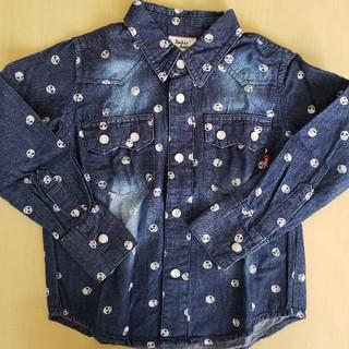 ドンキージョシー(Donkey Jossy)のDonkey jossy デニムシャツ    100cm(Tシャツ/カットソー)
