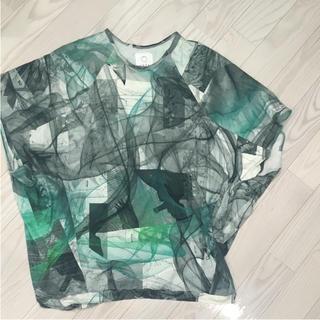 アッシュペーフランス(H.P.FRANCE)のohta オオタ チュニック トップス(Tシャツ/カットソー(半袖/袖なし))
