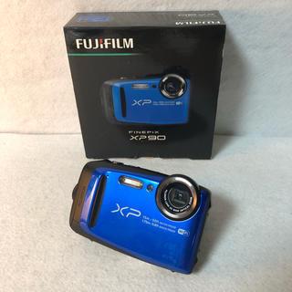 フジフイルム(富士フイルム)のFUJIFILM デジタルカメラ XP90 防水 ブルー FX-XP90BL(コンパクトデジタルカメラ)