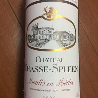 シャトーラギオール(Chateau Laguiole)のシャトーシャススプリーン 2000(ワイン)