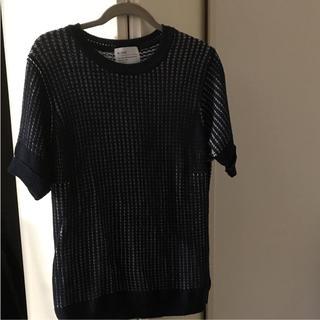 アレッジ(ALLEGE)のALLEGE メンズ  半袖セーター(ニット/セーター)