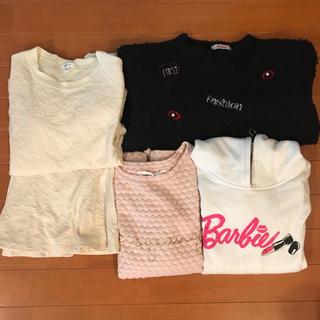 イングファースト(INGNI First)の//専用//女の子 冬用 140 150 +ジェニーワンピース(Tシャツ/カットソー)