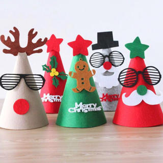 クリスマスパーティーグッズ 帽子(フォトプロップス)