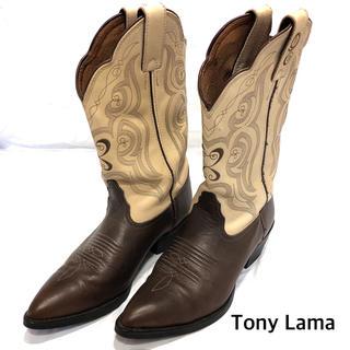 トニーラマ(Tony Lama)のTony Lama トニーラマ  ウエスタンブーツ 約24.5cm(ブーツ)
