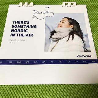 フィンエアー2019年卓上カレンダー 【フィンランド航空・ムーミン】(航空機)