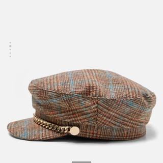 ザラ(ZARA)のZARA キャスケット(帽子)