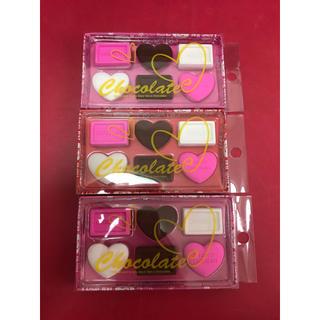 チョコレート(chocolate)の3箱セットでお譲り 新品 チョコレート 消しゴム 文房具(消しゴム/修正テープ)