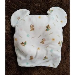 ディズニー(Disney)のドーナツ枕(ミッキー&ミニー柄)未使用(枕)