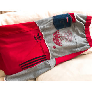 アディダス(adidas)のロングスカート adidas LEVI'S コラボ 美品(ロングスカート)