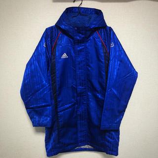 アディダス(adidas)のadidas アディダス ベンチコート 150 ブルー(コート)
