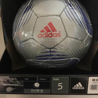 アディダス(adidas)の新品 アディダス スピードセル 5号検定球 AF5813SLBサッカー(ボール)