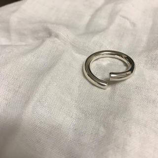 シルバーリング 純銀 アサミフジカワ 14号 新品 未使用 インポート(リング(指輪))
