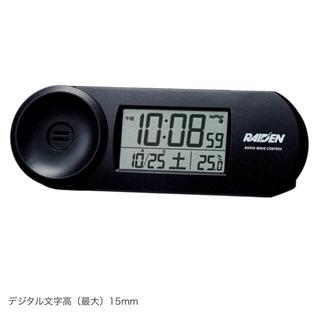 セイコー(SEIKO)のSEIKO セイコー 目覚まし時計 大音量 電波時計 デジタル ライデン 小型(置時計)