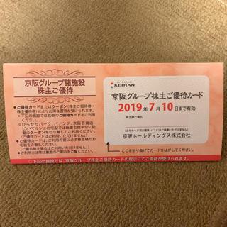 京阪グループ 株主優待券 ひらかたパーク