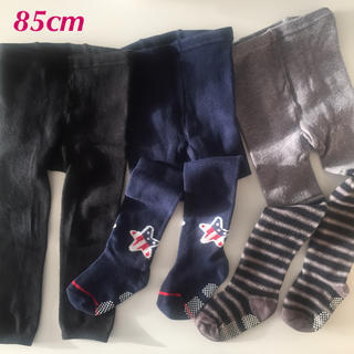 シマムラ(しまむら)の冬レギンス&タイツセット 85cm(靴下/タイツ)