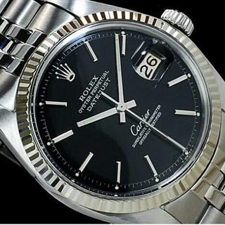 innovative design b546e 90a92 ROLEX - ブラックミラー ロレックス デイトジャスト カルティエW ...