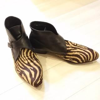 ゴーサンゴーイチプールオム(5351 POUR LES HOMMES)の5351 トラ柄ブーツ 革靴(ブーツ)