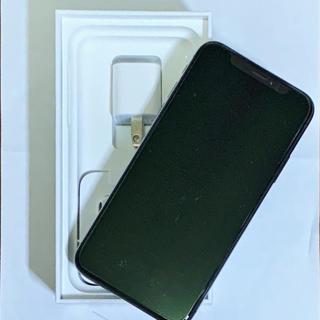 アイフォーン(iPhone)の【未使用・新品】iPhoneX 64GB スペースグレイ DoCoMo 一括購入(スマートフォン本体)