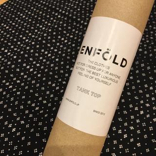 エンフォルド(ENFOLD)の新品未使用 エンフォルド enfold ノベルティ ニットタンクトップ(タンクトップ)