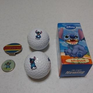 ディズニー(Disney)のスティッチ ニューウィング ゴルフボール ゴルフマーカー ゴルフ ディズニー(ゴルフ)