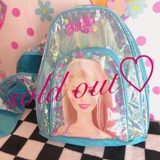 バービー(Barbie)のsold out♡(リュックサック)
