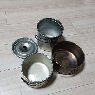 ユニフレーム(UNIFLAME)のユニフレーム ラーメンクッカー & チタンクッカー(調理器具)
