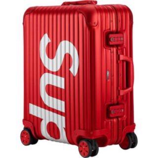 リモワ(RIMOWA)のSupreme rimowa 45L(トラベルバッグ/スーツケース)