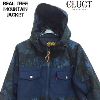 クラクト(CLUCT)のCLUCT マウンテン ワーク ジャケット 中綿 リアルツリー 迷彩 XL カモ(マウンテンパーカー)