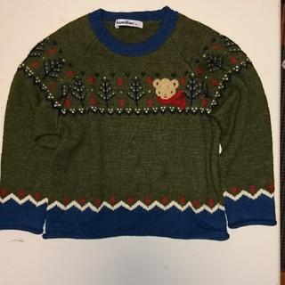 ファミリア(familiar)のファミリア こどもセーター 100cm(ニット/セーター)