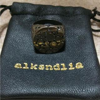 アレクサンドリア(alksndlia)のalksndlia シルバーリング(リング(指輪))