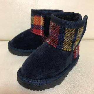 シマムラ(しまむら)のハリスツイード ブーツ しまむら(ブーツ)
