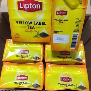ユニリーバ(Unilever)の新品未開封  リプトン  イエローラベル  6個 (茶)