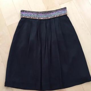シップス(SHIPS)のシップス スパンコールスカート(ひざ丈スカート)
