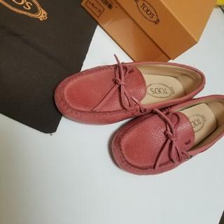 トッズ(TOD'S)のTOD'S モカシンシューズ ローファー レザー 靴 (スリッポン/モカシン)